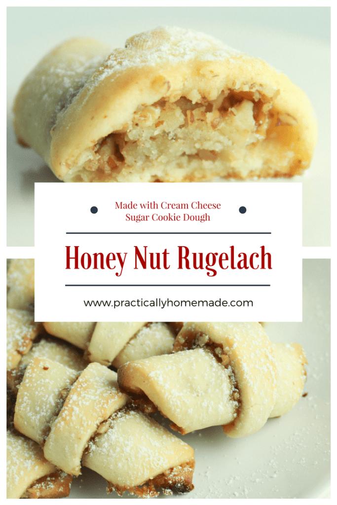 honey nut rugelach   honey nut rugelach cookies   honey-nut rugelach holiday cookies   rugelach recipe   rugelach recipe easy   rugelach cookies