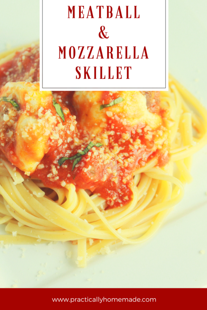 meatball and mozzarella | meatball and mozzarella recipe | meatball skillet | meatball skillet recipes | meatball skillet dinner | meatball with mozzarella