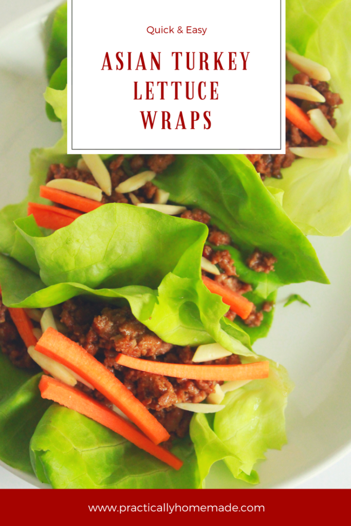 asian recipes | asian turkey lettuce wraps | asian lettuce wraps turkey | asian lettuce wraps | low carb | low carb recipe