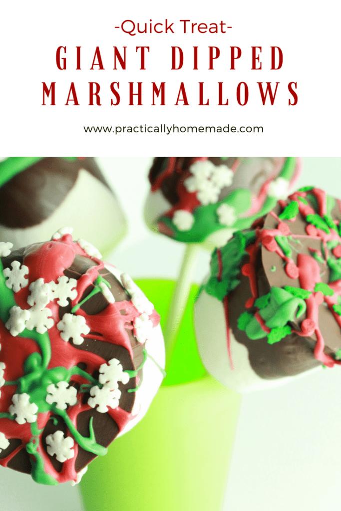 giant dipped marshmallows | giant marshmallow ideas | giant marshmallow pops | giant marshmallows | giant marshmallow recipes