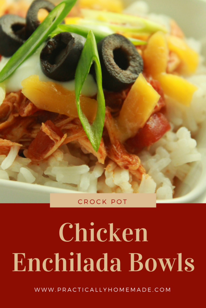 chicken enchilada bowls | chicken enchilada bowl crock pot | chicken enchilada recipe | bowl recipes | mexican food recipes | crock pot recipes | crock pot recipes easy | chicken recipes