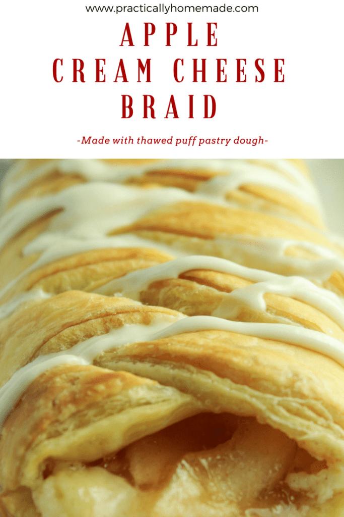 apple cream cheese dessert | apple cream cheese dessert danish | apple cream cheese dessert braid | apple breakfast recipes | apple puff pastry recipes | apple puff pastry dessert | apple puff pastry recipes simple | apple puff pastry braid | apple puff pastry braid breakfast