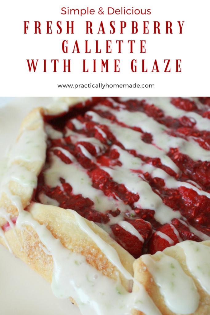 Raspberry Gallette | Raspberry Gallette Recipe | Gallette Recipe | Gallette | Gallette Recipe Desserts