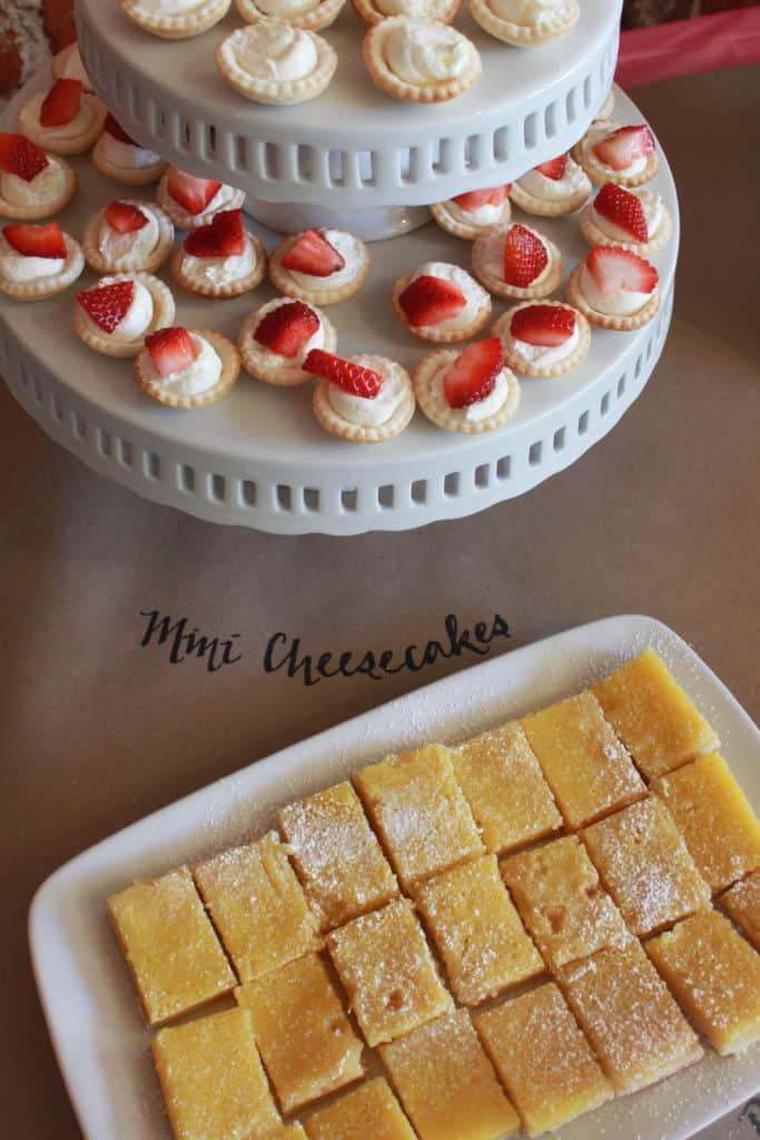 Dessert Buffet ideas featured by top US dessert blog, Practically Homemade