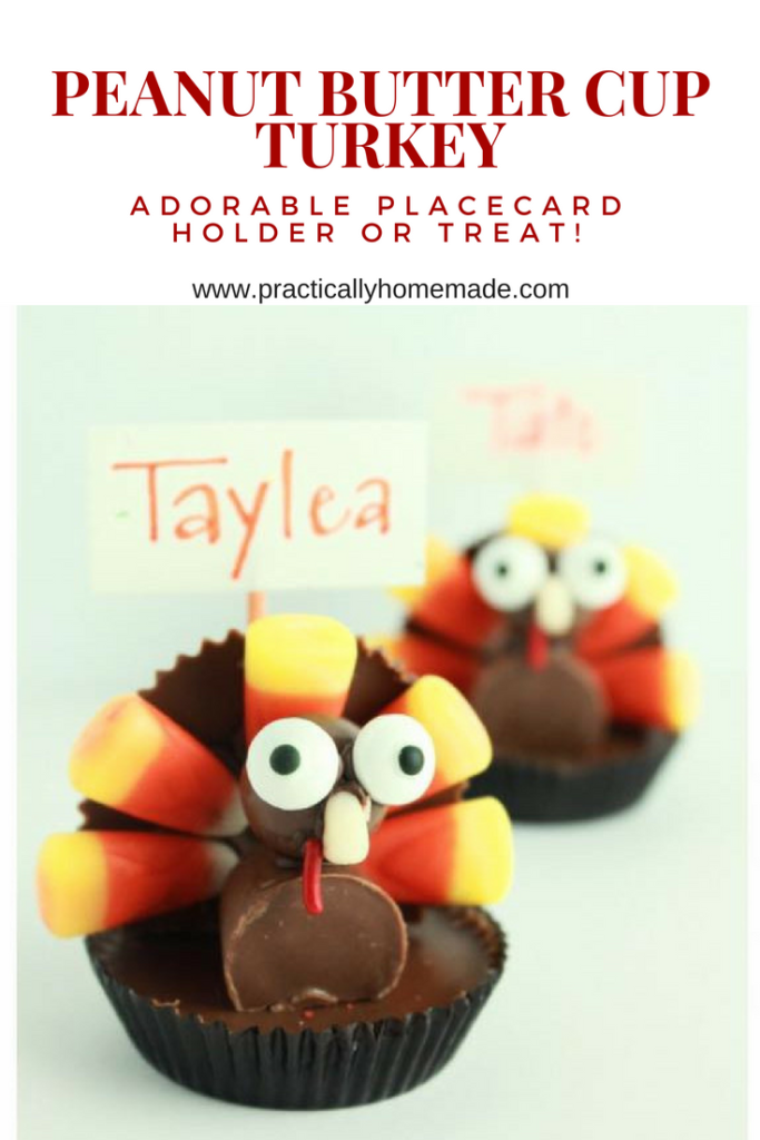 peanut butter cup turkey | candy turkeys | candy turkeys for thanksgiving | candy turkeys diy | candy turkeys for kids | edible place card holder