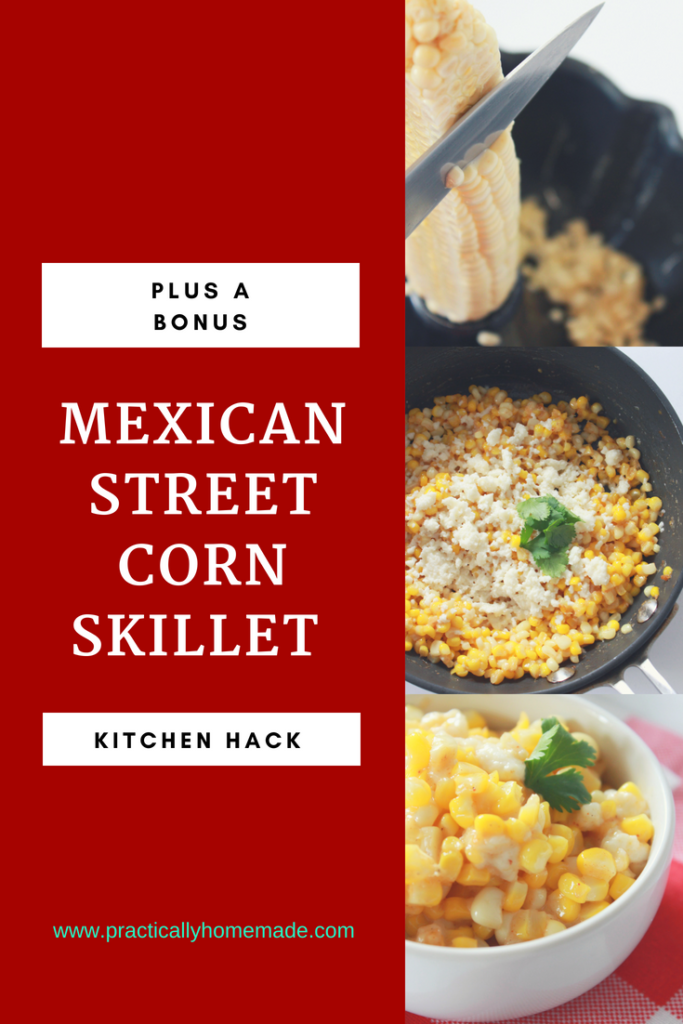 mexican street corn | mexican street corn skillet | mexican street corn recipe | mexican street corn skillet recipe | kitchen hack