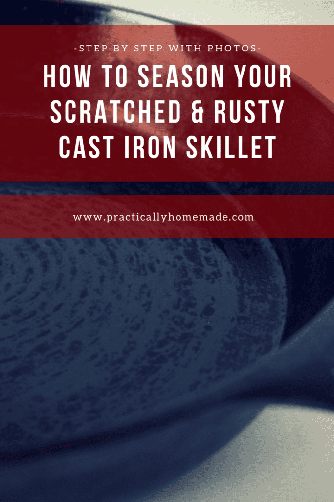 how to season a cast iron skillet | how to season cast iron | cast iron | cast iron recipes