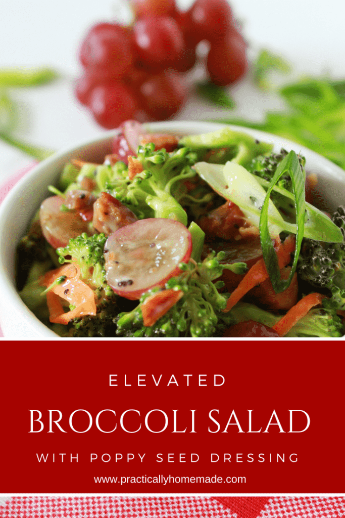 broccoli salad | broccoli salad recipe | broccoli salad with grapes | broccoli salad easy | elevated salads | summer salad recipes