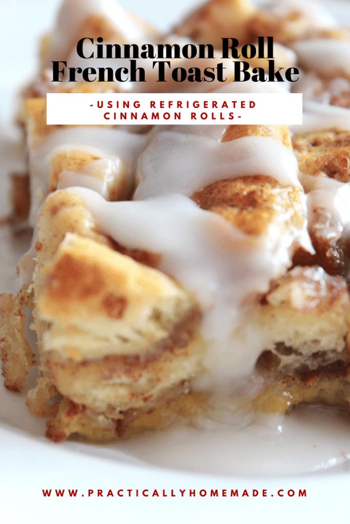 cinnamon roll french toast bake | cinnamon roll french toast casserole | cinnamon roll french toast bake easy | french toast casserole | french toast bake