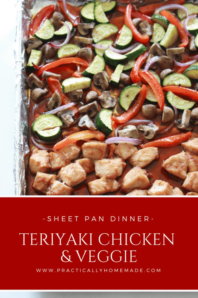 sheet pan dinners | sheet pan meals | teriyaki chicken | teriyaki chicken sheet pan | teriyaki chicken sheet pan recipe