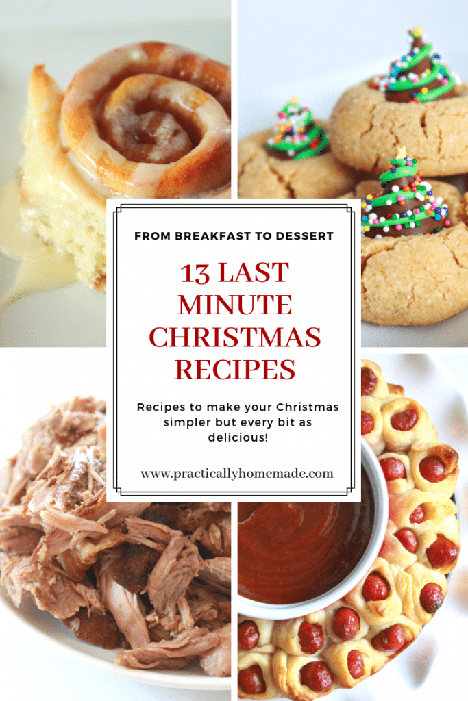 13 last minute Christmas recipes | last minute Christmas recipes | simple holiday recipes | Christmas recipes