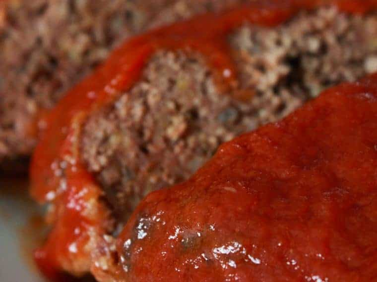 Crock Pot Meatloaf Recipe featured by top US food blog, Practically Homemade