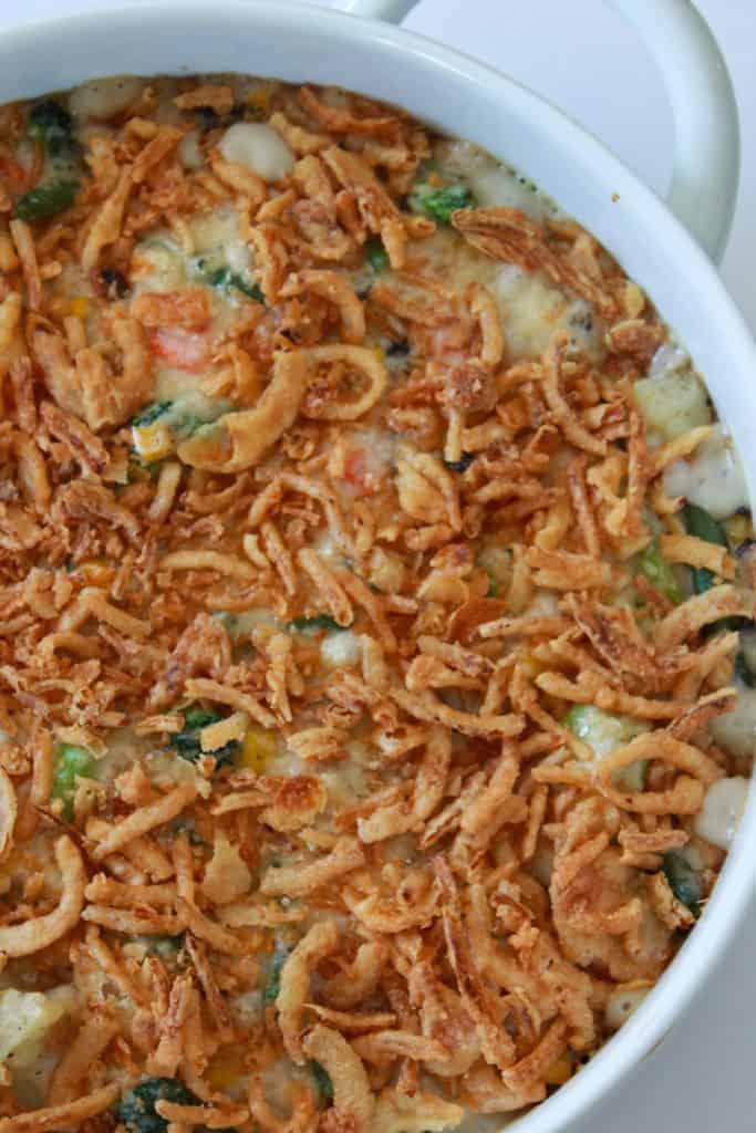 Frozen Vegetable Casserole Recipe | Side Dishes ...