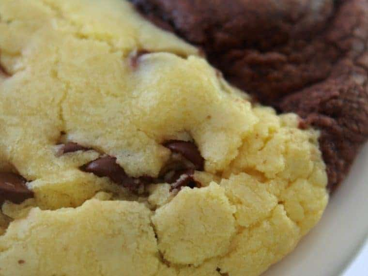 Brookies recipe featured by top US cookies blog, Practically Homemade |
