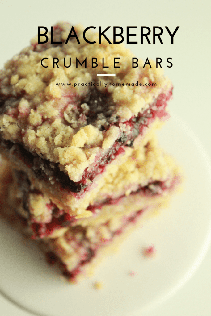 blackberry crumble bars | shortbread bars | fruit bars | blackberry bars | blackberry desserts | shortbread crumble bars | crumble bars