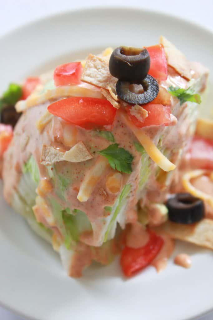 Fiesta Wedge Salad