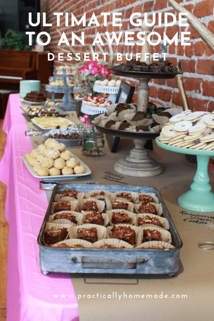 Ultimate Guide of How to Plan A Dessert Buffet |