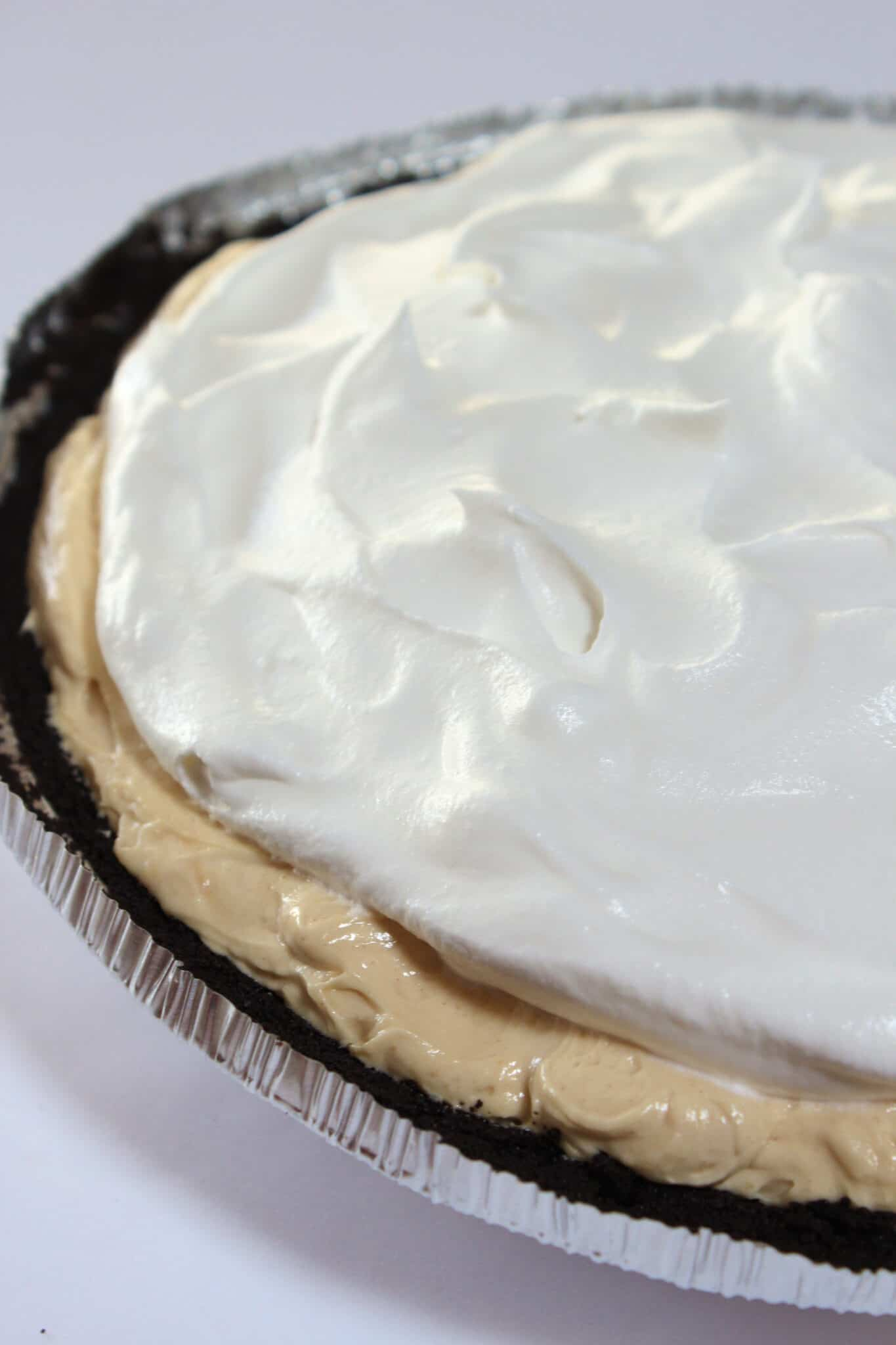 Thanksgiving Pie Ideas: No Bake Peanut Butter Pie Recipes featured by top US food blog, Practically Homemade