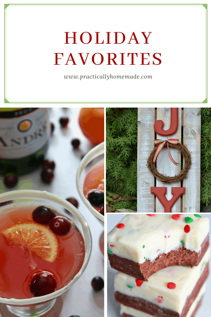 Holiday Favorites featured by top US food blog, Practically Homemade