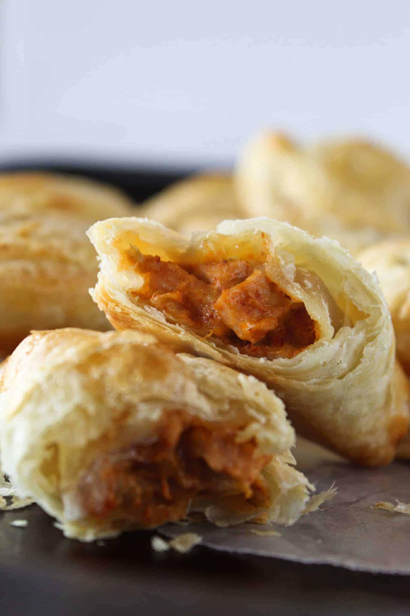 Turkey Empanadas Recipe featured by top US food blog, Practically Homemade.