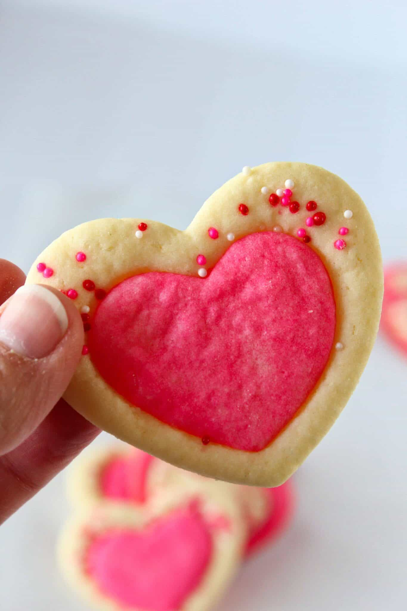 Heart Shaped Baking Essentials for Valentines Day featured by top US dessert blog, Practically Homemade