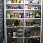 Pantry storage essentials featured by top US food blog, Practically Homemade.