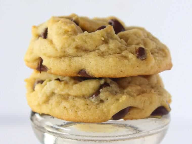 Searching for the Best Chocolate Chip Cookie Recipe: Grandma Pearl Traditional Chocolate Chip Cookies featured by top US cookie blog, Practically Homemade