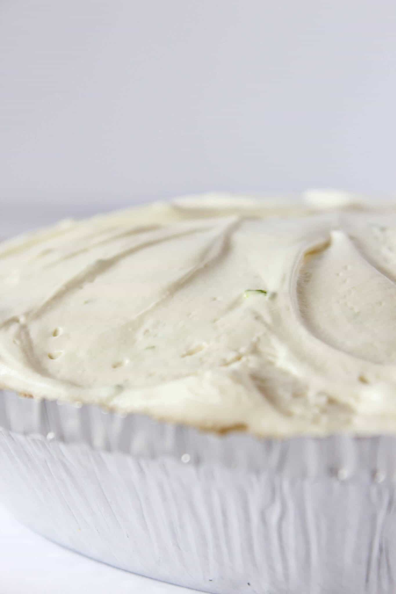 No Bake Margarita Cheesecake Recipe featured by top US dessert blogger, Practically Homemade