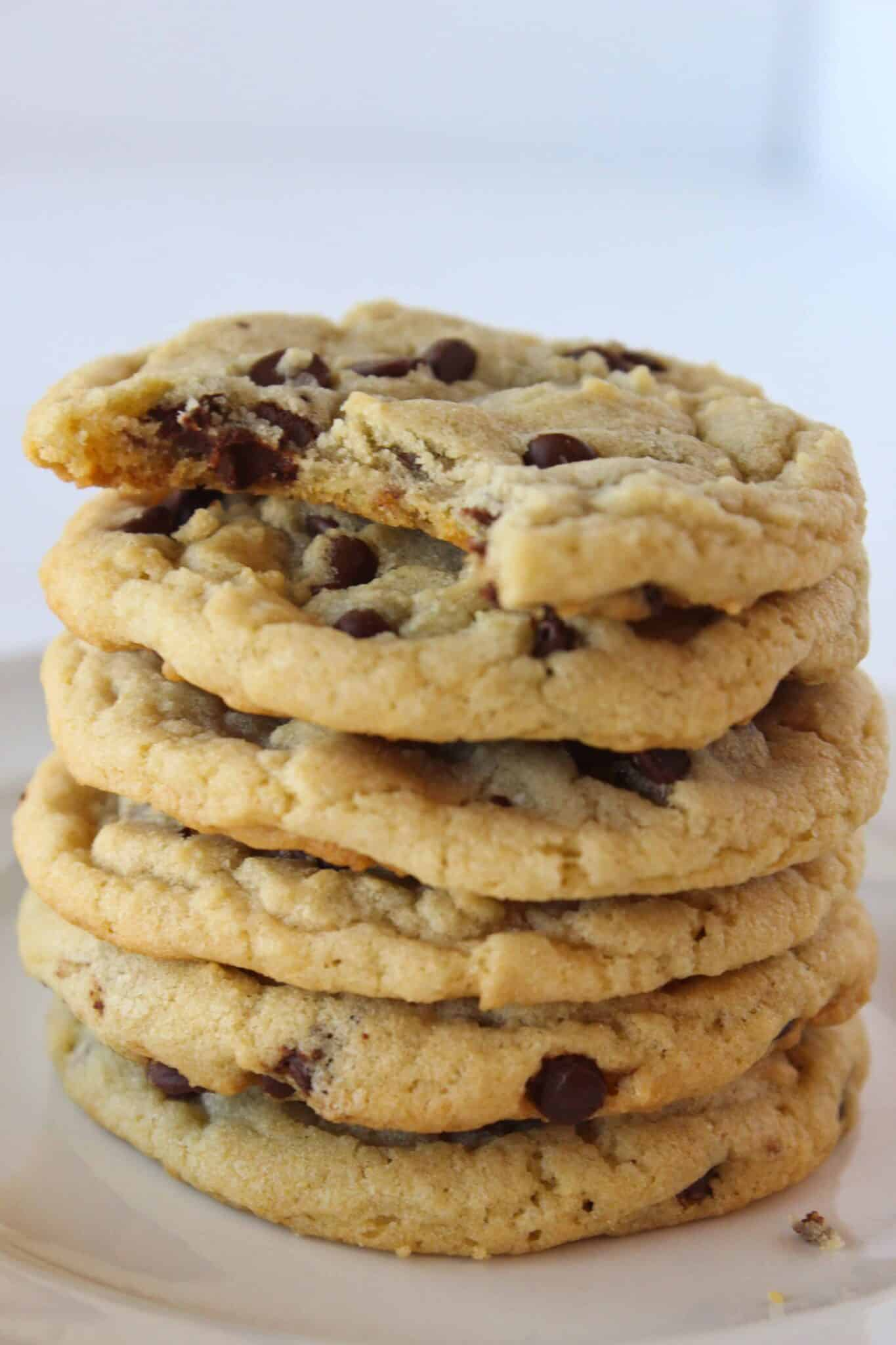 Everyday Chocolate Chip Cookies recipe featured by top US food blogger, Practically Homemade