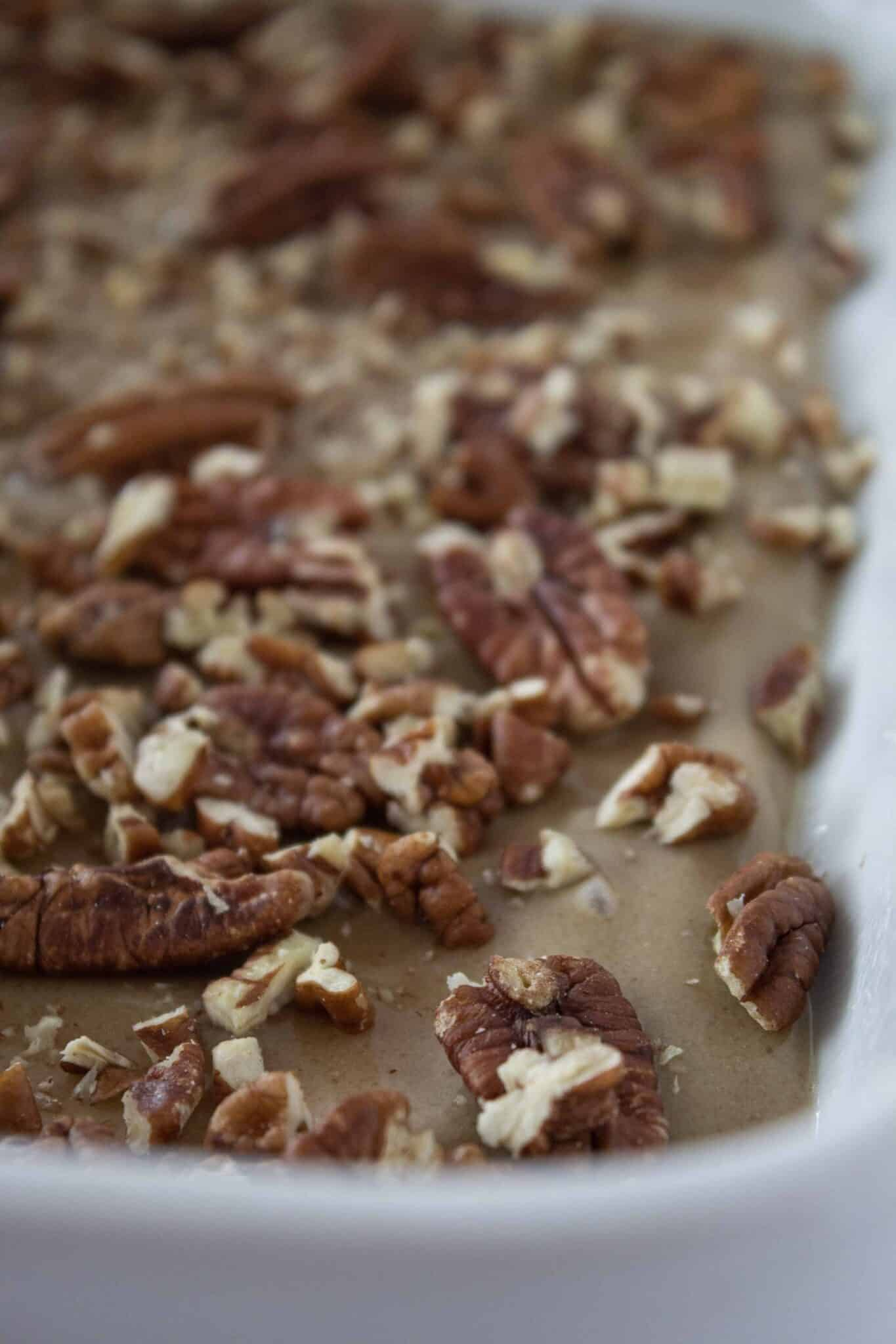 Easy Caramel Pecan Sticky Buns Recipe featured by top US dessert blogger, Practically Homemade