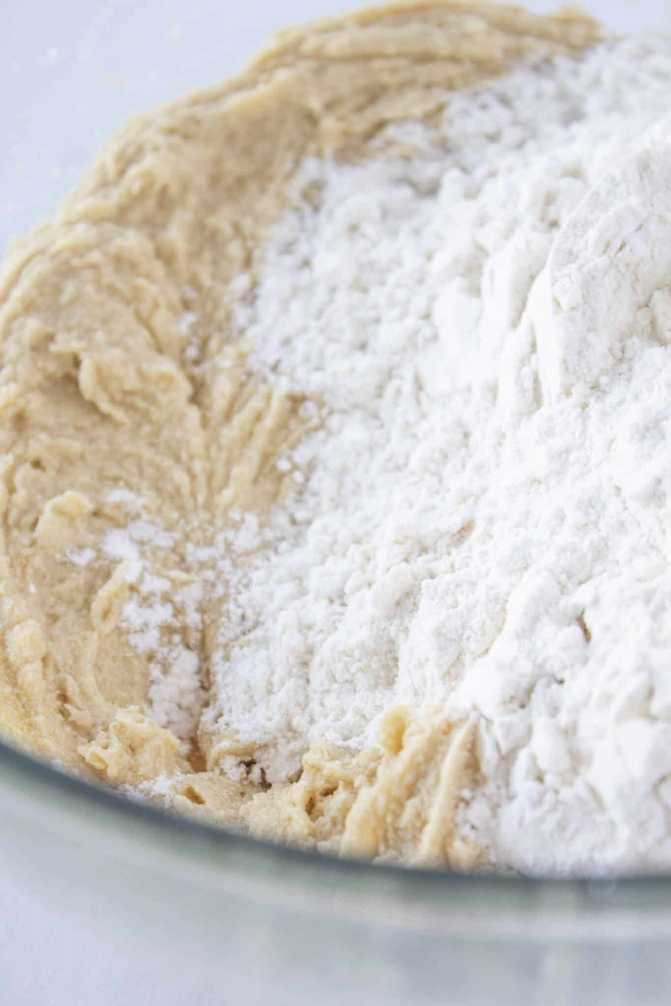 Eggnog Coffee Cake Recipe, the perfect Christmas morning breakfast, featured by top US food blogger, Practically Homemade