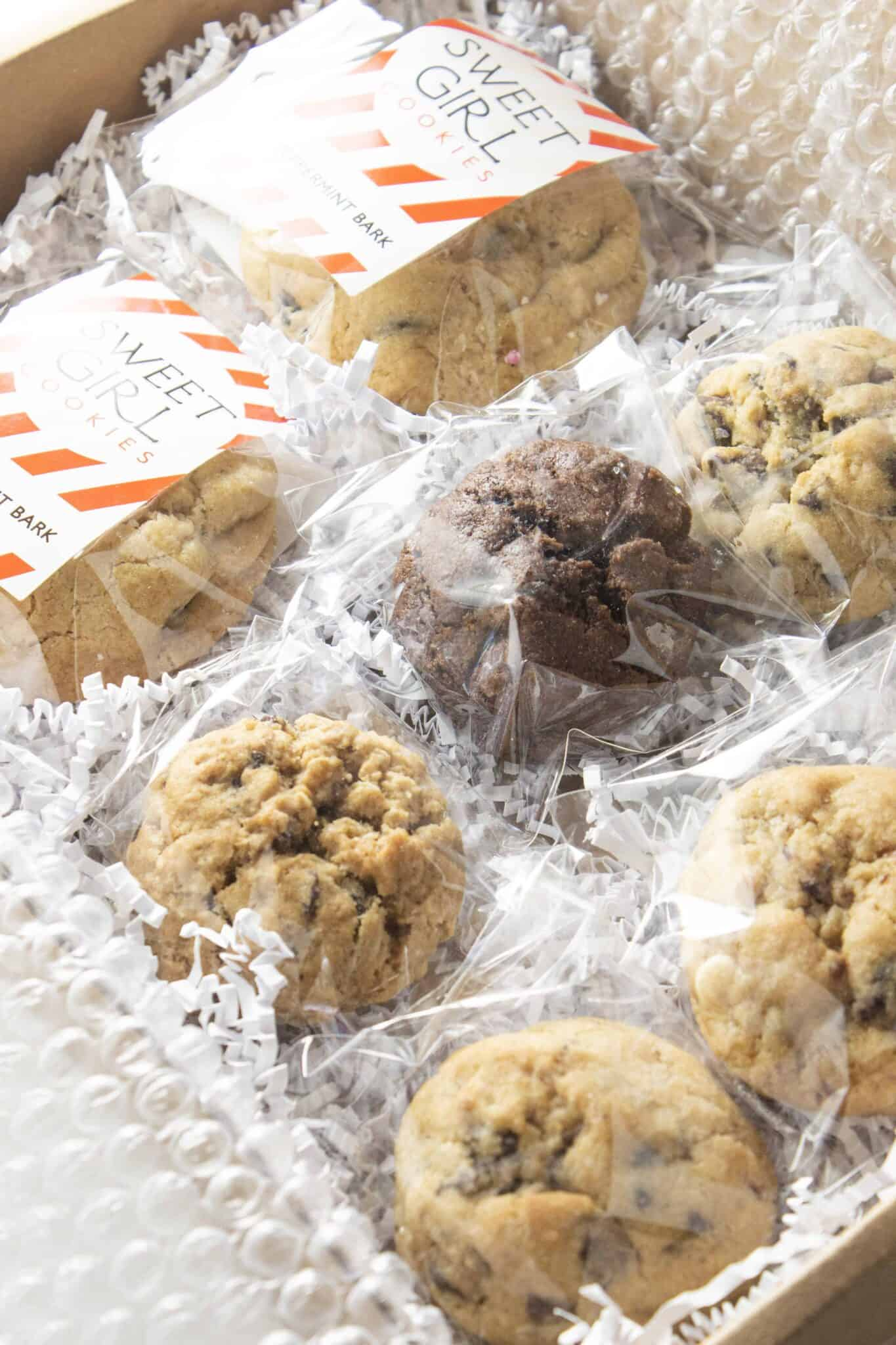 Top 5 Best Mail Order Cookies featured by top US cookie blogger, Practically Homemade: Sweet Girl Cookies