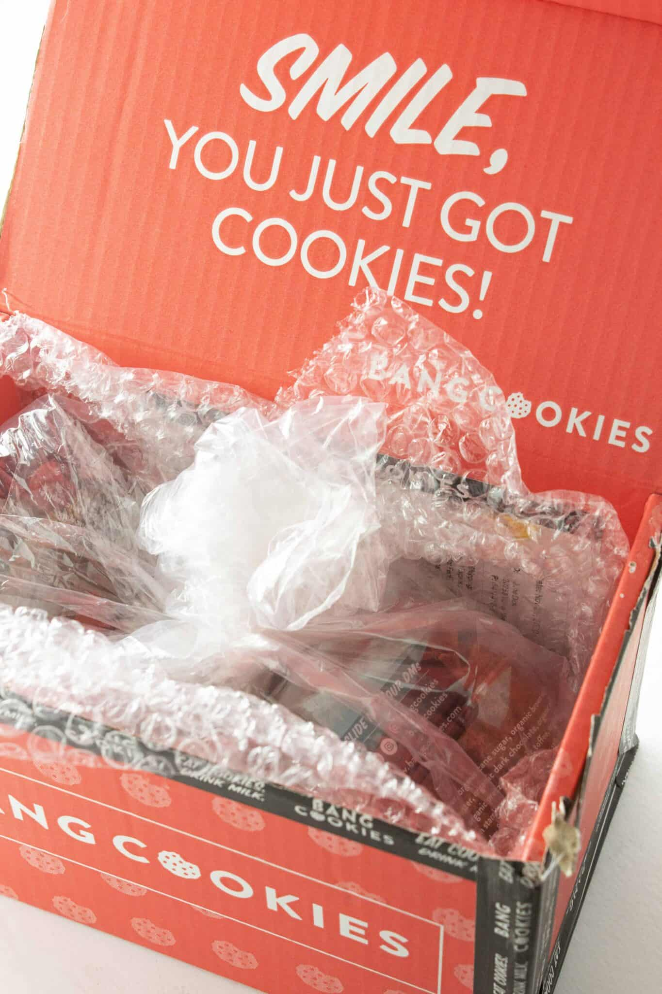 Top 5 Best Mail Order Cookies featured by top US cookie blogger, Practically Homemade: Bang Cookies