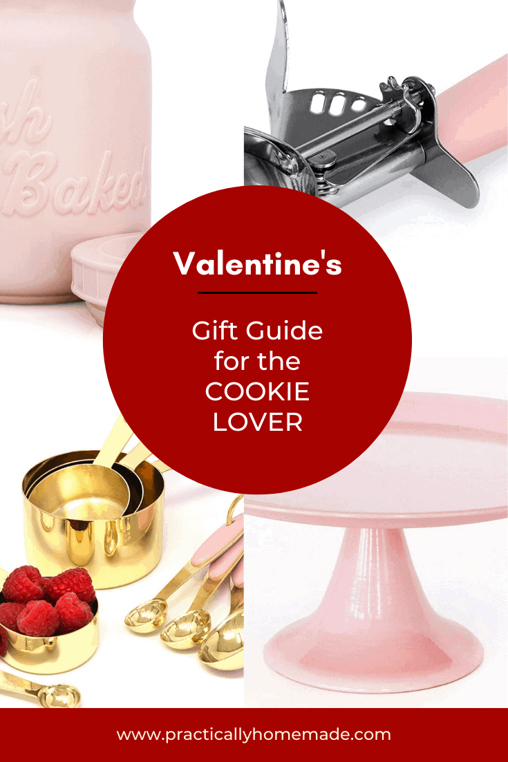 Valentine's Day Gift Ideas for the Cookie Lover featured by top US cookie blogger, Practically Homemade
