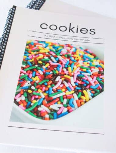 Family Cookbook Project review featured by top US recipe blogger, Practically Homemade