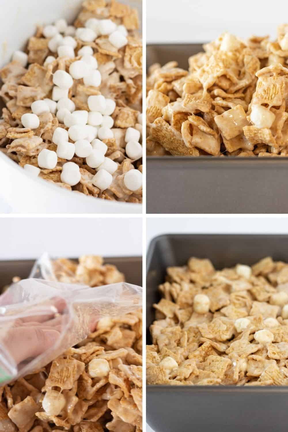 No Bake Cinnamon Toast Crunch Bars Recipe featured by top US dessert blog, Practically Homemade