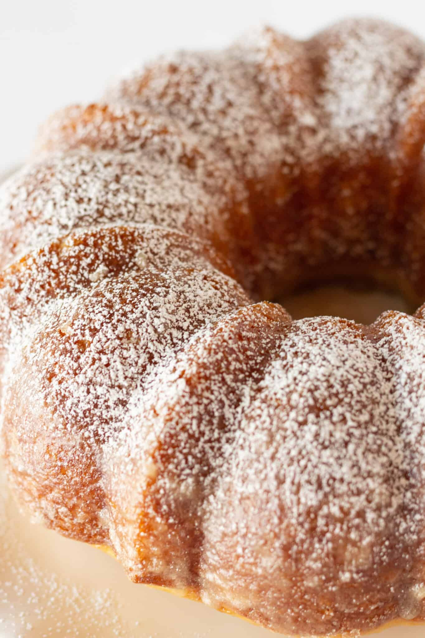 Kentucky Butter Bundt Cake Recipe Made with a Cake Mix featured by top US dessert blogger, Practically Homemade