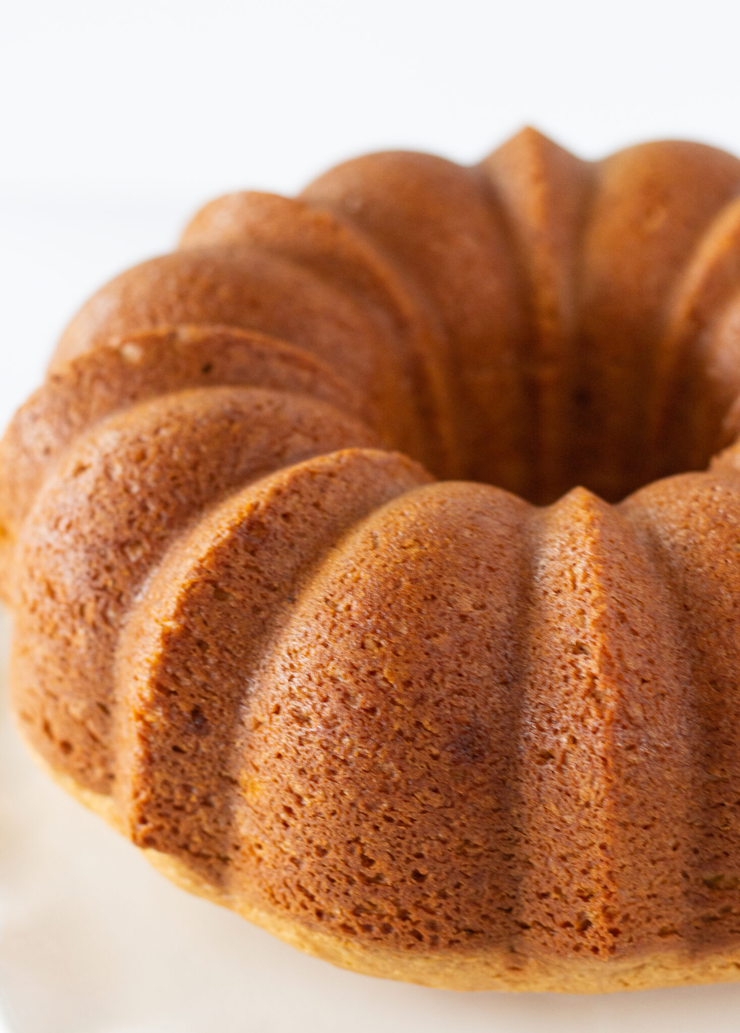Peanut Butter Texas Sheet Cake Bundt Cake Recipe Made with a Cake Mix by top US dessert blogger, Practically Homemade